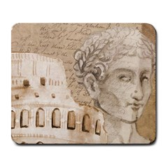 Colosseum Rome Caesar Background Large Mousepads
