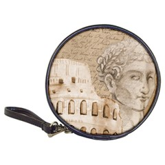 Colosseum Rome Caesar Background Classic 20 Cd Wallets