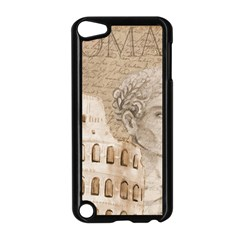 Colosseum Rome Caesar Background Apple Ipod Touch 5 Case (black)