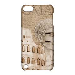 Colosseum Rome Caesar Background Apple Ipod Touch 5 Hardshell Case With Stand