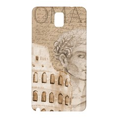 Colosseum Rome Caesar Background Samsung Galaxy Note 3 N9005 Hardshell Back Case