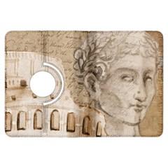 Colosseum Rome Caesar Background Kindle Fire Hdx Flip 360 Case