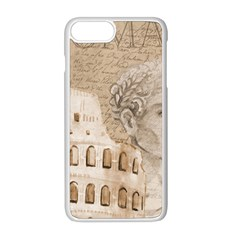 Colosseum Rome Caesar Background Apple Iphone 8 Plus Seamless Case (white)