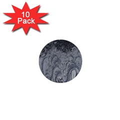 Abstract Art Decoration Design 1  Mini Buttons (10 Pack)