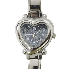 Abstract Art Decoration Design Heart Italian Charm Watch