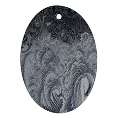Abstract Art Decoration Design Oval Ornament (two Sides)