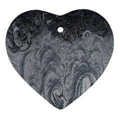 Abstract Art Decoration Design Heart Ornament (two Sides)