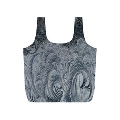 Abstract Art Decoration Design Full Print Recycle Bags (s)