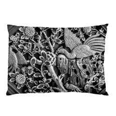 Black And White Pattern Texture Pillow Case