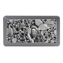 Black And White Pattern Texture Memory Card Reader (mini)
