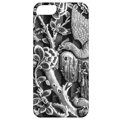 Black And White Pattern Texture Apple Iphone 5 Classic Hardshell Case