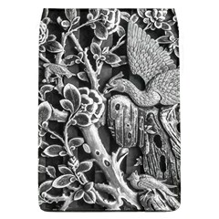 Black And White Pattern Texture Flap Covers (l)