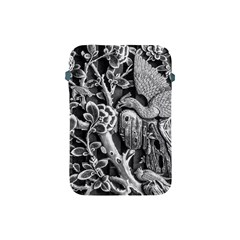 Black And White Pattern Texture Apple Ipad Mini Protective Soft Cases