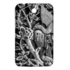 Black And White Pattern Texture Samsung Galaxy Tab 3 (7 ) P3200 Hardshell Case