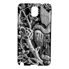Black And White Pattern Texture Samsung Galaxy Note 3 N9005 Hardshell Case