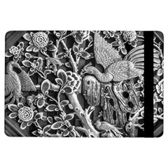 Black And White Pattern Texture Ipad Air Flip