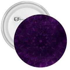 Background Purple Mandala Lilac 3  Buttons