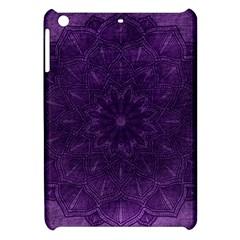 Background Purple Mandala Lilac Apple Ipad Mini Hardshell Case