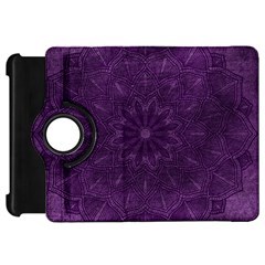 Background Purple Mandala Lilac Kindle Fire Hd 7