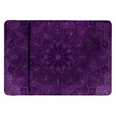 Background Purple Mandala Lilac Samsung Galaxy Tab 8 9  P7300 Flip Case