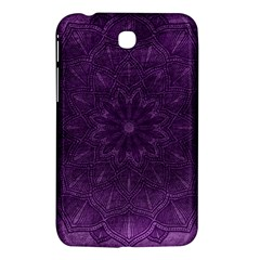 Background Purple Mandala Lilac Samsung Galaxy Tab 3 (7 ) P3200 Hardshell Case