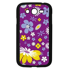 Floral Flowers Samsung Galaxy Grand Duos I9082 Case (black)