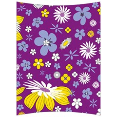 Floral Flowers Back Support Cushion