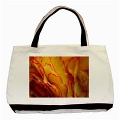 Flowers Leaves Leaf Floral Summer Basic Tote Bag (two Sides)