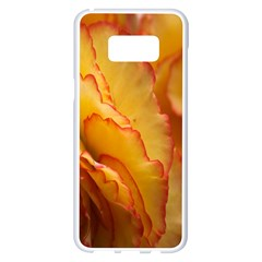 Flowers Leaves Leaf Floral Summer Samsung Galaxy S8 Plus White Seamless Case