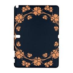 Floral Vintage Royal Frame Pattern Galaxy Note 1