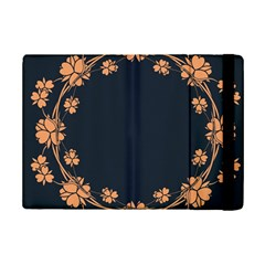 Floral Vintage Royal Frame Pattern Ipad Mini 2 Flip Cases
