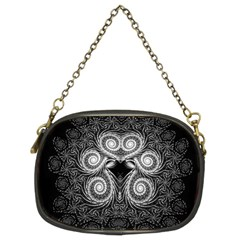 Fractal Filigree Lace Vintage Chain Purses (two Sides)
