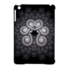 Fractal Filigree Lace Vintage Apple Ipad Mini Hardshell Case (compatible With Smart Cover)
