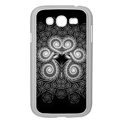 Fractal Filigree Lace Vintage Samsung Galaxy Grand Duos I9082 Case (white)