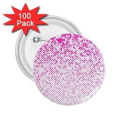 Halftone Dot Background Pattern 2 25  Buttons (100 Pack)
