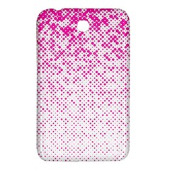 Halftone Dot Background Pattern Samsung Galaxy Tab 3 (7 ) P3200 Hardshell Case