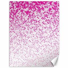 Halftone Dot Background Pattern Canvas 36  X 48