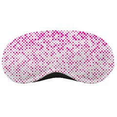 Halftone Dot Background Pattern Sleeping Masks