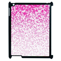 Halftone Dot Background Pattern Apple Ipad 2 Case (black)