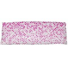 Halftone Dot Background Pattern Body Pillow Case (dakimakura)