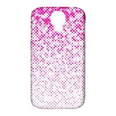 Halftone Dot Background Pattern Samsung Galaxy S4 Classic Hardshell Case (pc+silicone)