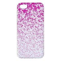 Halftone Dot Background Pattern Iphone 5s/ Se Premium Hardshell Case