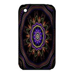 Fractal Vintage Colorful Decorative Iphone 3s/3gs