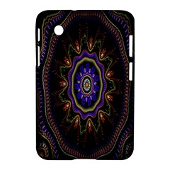 Fractal Vintage Colorful Decorative Samsung Galaxy Tab 2 (7 ) P3100 Hardshell Case