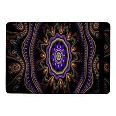 Fractal Vintage Colorful Decorative Samsung Galaxy Tab Pro 10 1  Flip Case