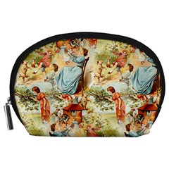 Seamless Vintage Design Accessory Pouches (large)