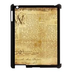 Vintage Background Paper Apple Ipad 3/4 Case (black)