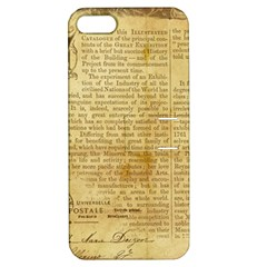 Vintage Background Paper Apple Iphone 5 Hardshell Case With Stand