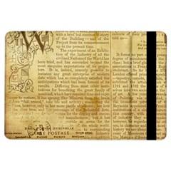 Vintage Background Paper Ipad Air Flip