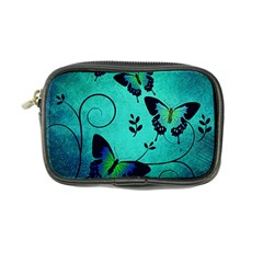 Texture Butterflies Background Coin Purse